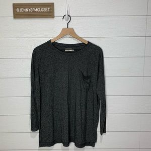 Abercrombie & Fitch Gray Tee Size XS